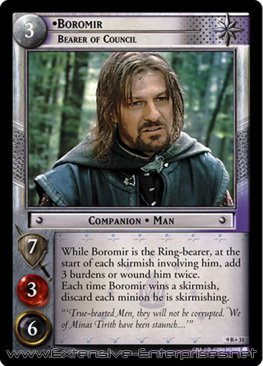 Boromir, Bearer of Council