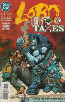 Lobo: Death and Taxes #1