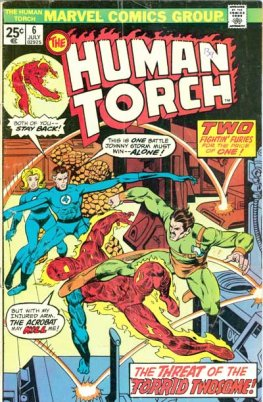 Human Torch, The #6