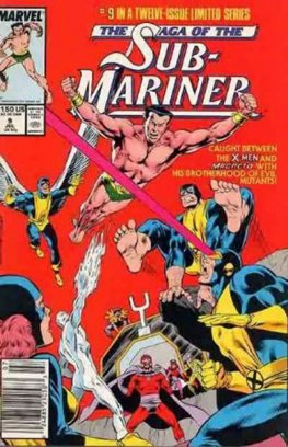 Saga of the Sub-Mariner #9