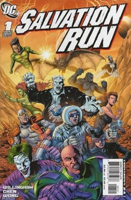 Salvation Run #1 (Kolina Variant)