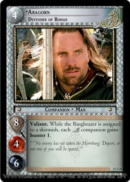 Aragorn, Defender of Rohan