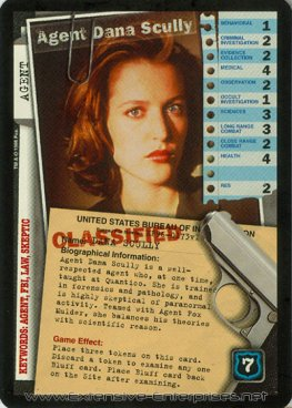 Agent Dana Scully