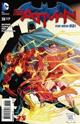 Batman #38 (Flash Anniversary Variant)