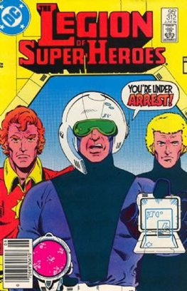 Legion of Super-Heroes #312