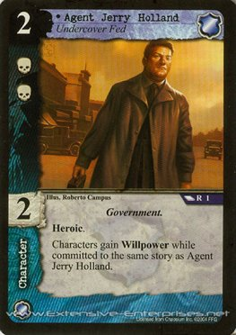 Agent Jerry Holland
