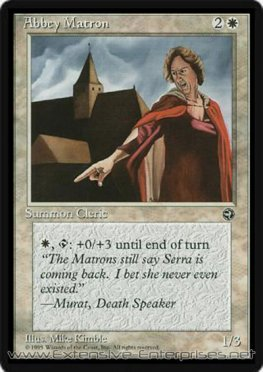 Abbey Matron (- Murat, Death Speaker)