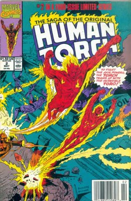 Saga of the Original Human Torch, The #2