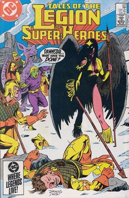 Legion of Super-Heroes #322