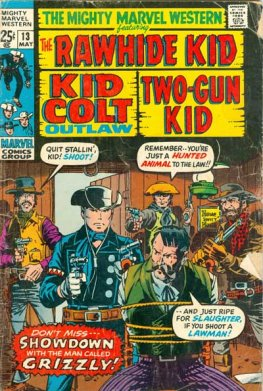 Mighty Marvel Westerns #13