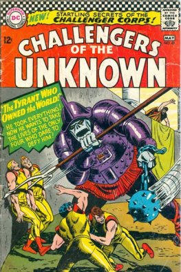Challengers of the Unknown #49