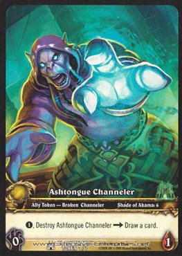 Ashtongue Channeler / Shadowy Construct
