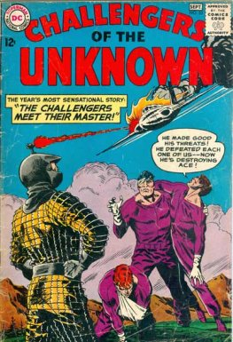 Challengers of the Unknown #33