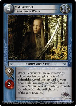 Glorfindel, Revealed in Wrath