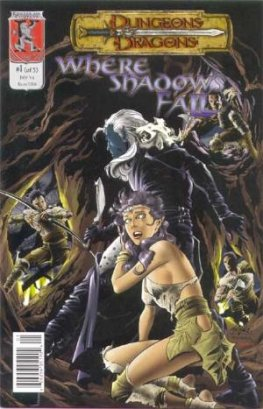 Dungeons & Dragons: Where Shadows Fall (Complete Series #1-5)