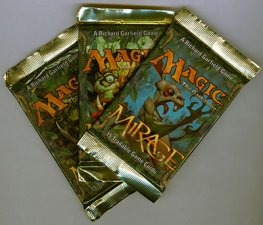 Magic the Gathering Mirage, Booster Pack