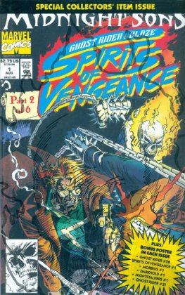 Ghost Rider / Blaze, Spirits of Vengeance #1 (Un-Poly Bagged)