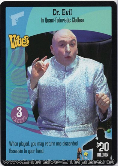 Dr. Evil, In Quasi-Futuristic Cloths