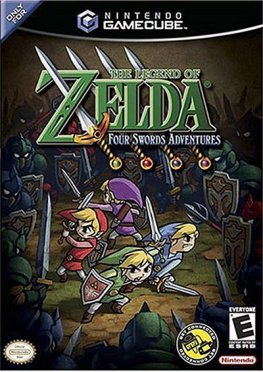Legend of Zelda Four Swords Adventures, The
