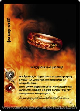 One Ring, Isildur's Bane