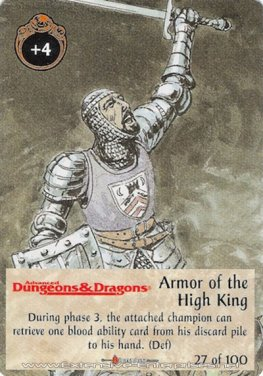 Armor of the High King