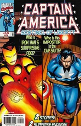 Captain America: Sentinel of Liberty #5