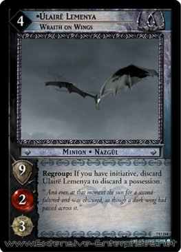 Úlairë Lemenya, Wraith on Wings