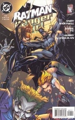 Batman / Danger Girl (Campbell Variant)