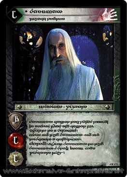 Saruman, Black Traitor