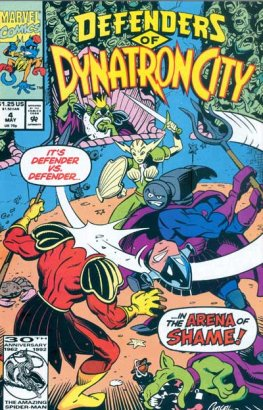 Defenders of Dynatron City #4