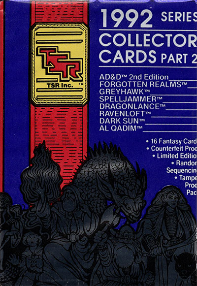 Advanced Dungeons & Dragons, pt2 (1992), Booster Pack