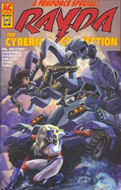 Femforce Special: Rayda - The Cyberian Connection #3