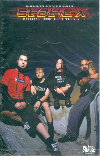 Static-X #1 (Photo Cover)