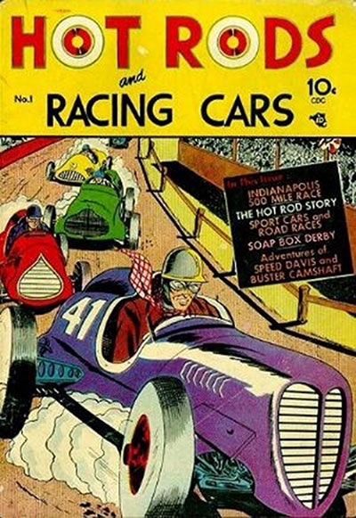Hot Rods and Racing Ca (1951-73)