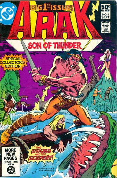 Arak, Son of Thunder #1
