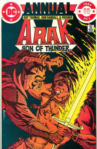 Arak, Son of Thunder #1 (Annual)
