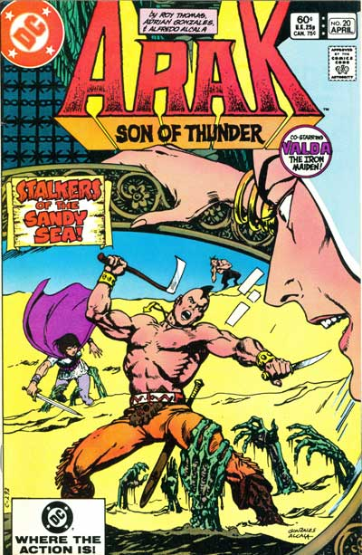 Arak, Son of Thunder #20