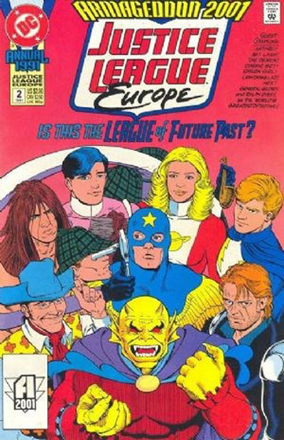 Justice League Europe #2 (Annual)