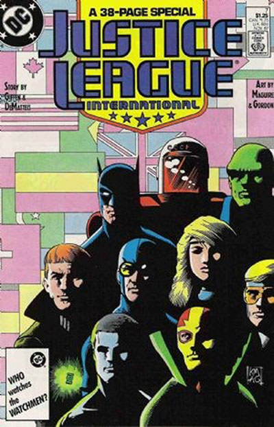 Justice League Interna (1987-89)