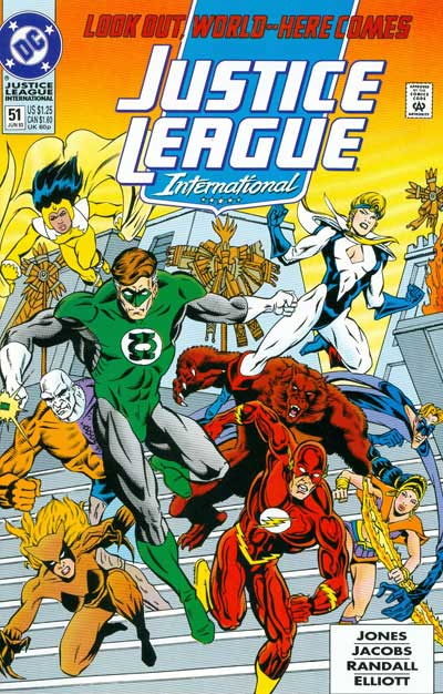 Justice League Interna (1993-94)
