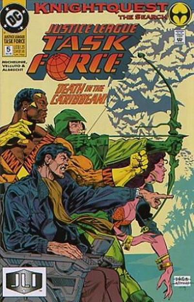 Justice League Task Force #5