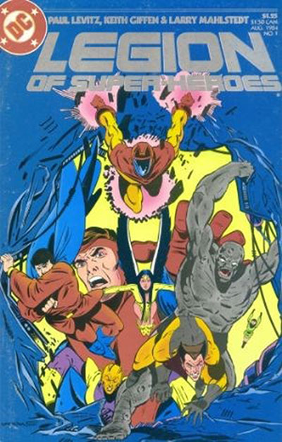 Legion of Super-Heroes (1984-89)