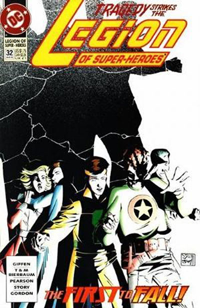 Legion of Super-Heroes #32