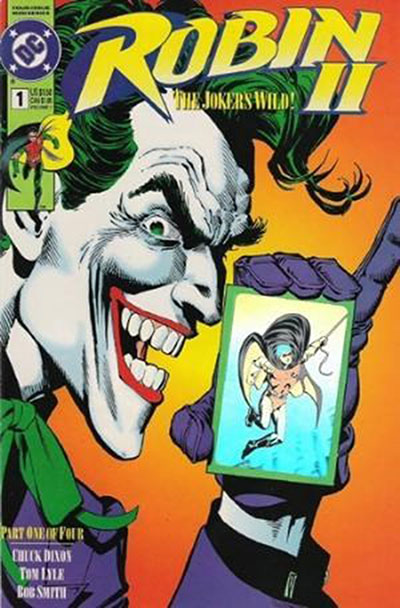 Robin II: The Joker's Wild #1 (Joker Close-Up Hologram Variant)