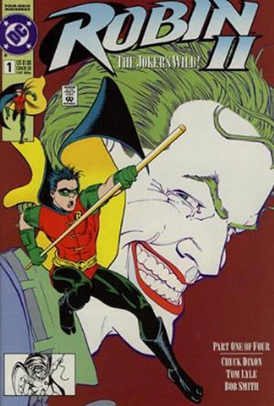 Robin II: The Joker's Wild #1 (Newsstand Variant)
