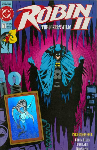 Robin II: The Joker's Wild #1 (Batman Hologram Variant)