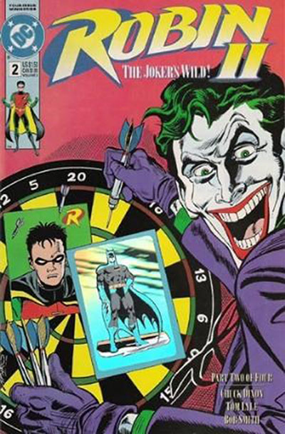 Robin II: The Joker's Wild #2 (Dartboard Variant)