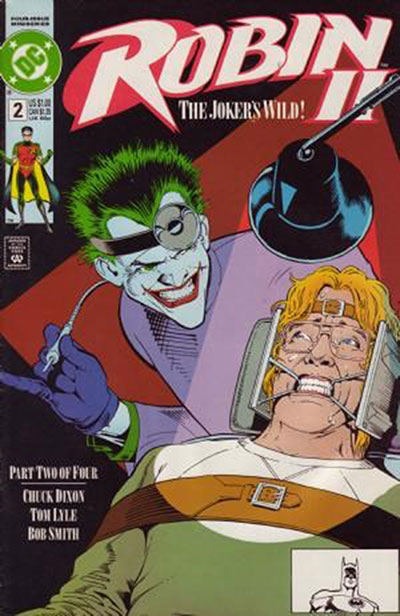 Robin II: The Joker's Wild #2 (Newsstand Variant)