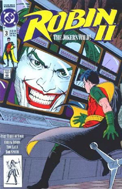 Robin II: The Joker's Wild #3 (Newsstand Variant)
