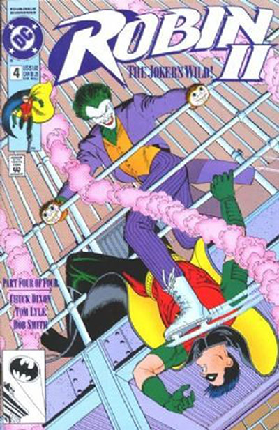 Robin II: The Joker's Wild #4 (Newsstand Variant)